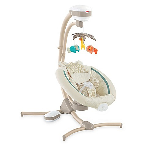 Fisher-Price® Soothing Savanna Cradle 'n Swing