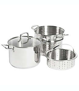 Set de olla multiusos SALT™, de acero inoxidable de 7.57 L, 4 piezas