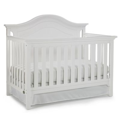 Ti Amo Catania 4-In-1 Convertible Crib in Snow White - Bed Bath & Beyond