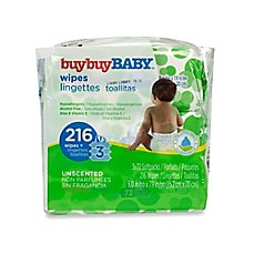 image of buybuy BABY™ 3-Pack 72-Count Unscented Wipes