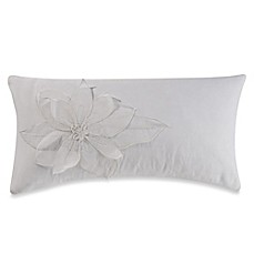 image of Barbara Barry Melody Voile Oblong Throw Pillow in Ivory