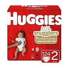 image of Huggies® Little Snugglers 168-Pack Size 2 Mega Colossal Diapers