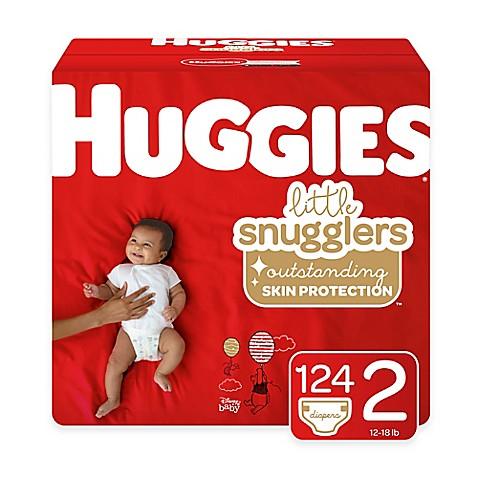 Huggies 174 Little Snugglers 168 Pack Size 2 Mega Colossal