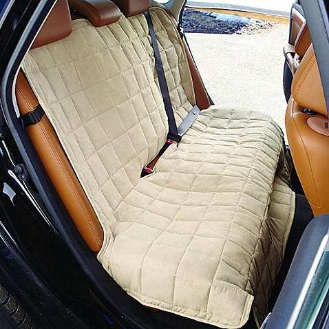 Waterproof Car Cover >> Sure Fit® Waterproof Soft Suede Bench Seat Cover - Bed ...