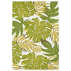 image of Kaleen Sea Isle Palms Indoor/Outdoor Rug in Green