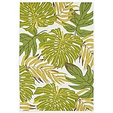 Image Of Kaleen Sea Isle Palms Indoor/Outdoor Rug In Green