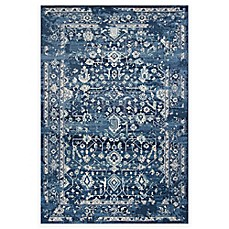 image of KAS Azure Blue Marrakesh Rug