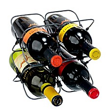 image of rabbit® Houdini 4-Bottle Space-Saving Wine Rack