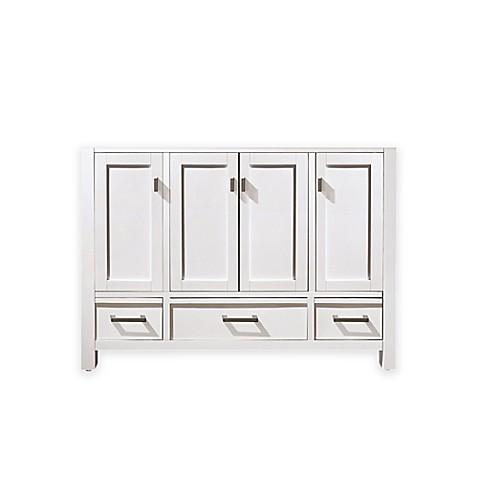 buy avanity modero 48 inch vanity base in white from bed For48 Inch Bathroom Vanity Base