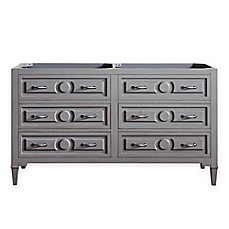 Image Of Avanity Kelly 60 Inch Double Vanity Base In Greyish Blue