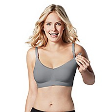 image of Bravado Designs Body Silk Seamless Nursing Bra in Silver Belle