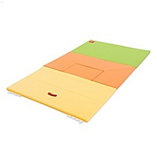 image of Design Skins 53-Inch Transformable House Play Mat in Orange