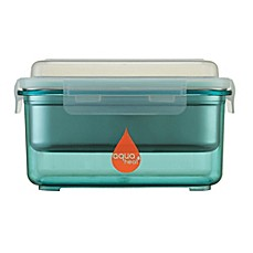 image of Aquaheat™ by Innobaby 28 oz. Portable Food Warmer Container Mega Set in Aqua