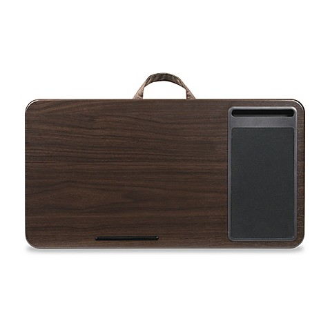 Deluxe Wood Laptop Lap Desk In Espresso Bed Bath Amp Beyond