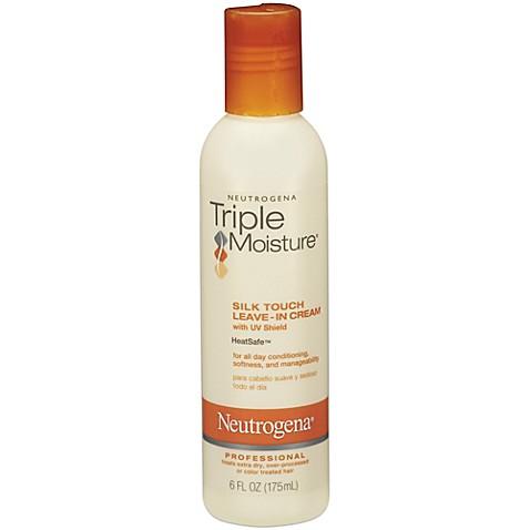 Neutrogena Reg Triple Moisture 6 Oz Silk Touch Leave In Cream