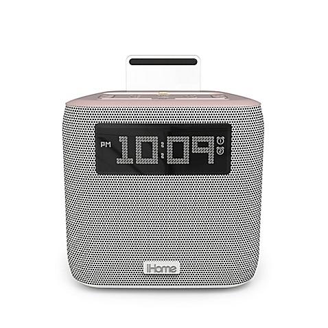ihome ipl24 dual alarm fm clock radio with lightning. Black Bedroom Furniture Sets. Home Design Ideas