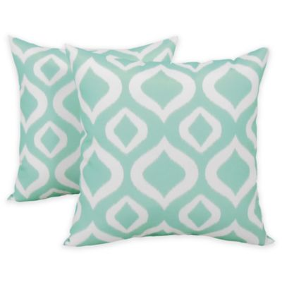 Arlee Decorative Body Pillow : Arlee Home Fashions Javana Printed Throw Pillow (Set of 2) - Bed Bath & Beyond