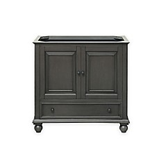 image of Avanity Thompson 36-Inch Single Vanity Base in Charcoal