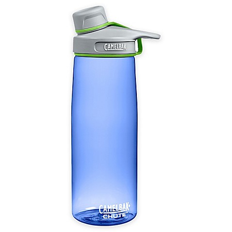 buy camelbak chute water bottle in hydrangea blue from bed bath beyond. Black Bedroom Furniture Sets. Home Design Ideas