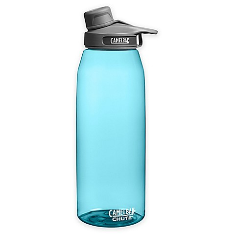 buy camelbak chute 1 5 liter water bottle in blue from bed bath beyond. Black Bedroom Furniture Sets. Home Design Ideas