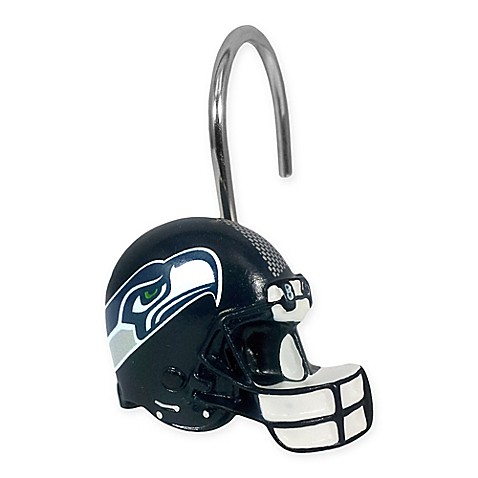 NFL Seattle Seahawks Shower Curtain Rings By The Northwest