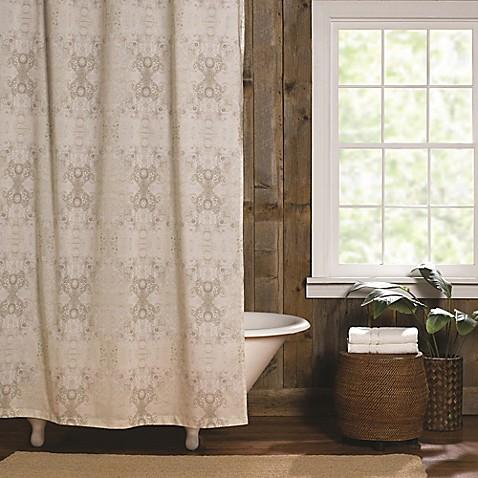 Buy Tracy Porter Gigi Bath Shower Curtain In Neutral From
