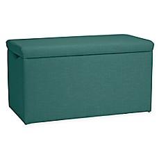 Image Of Skyline Furniture Skylar Storage Bench In Linen Laguna