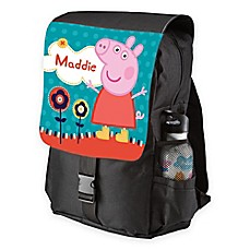 image of Peppa Pig Lovely Garden Toddler Backpack in Black