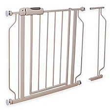 image of Evenflo® Easy Walk-Thru Gate in Taupe
