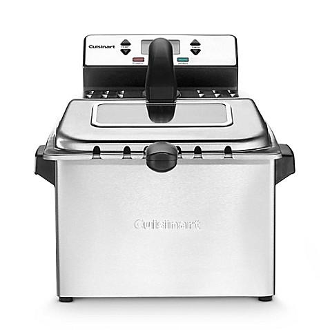 Cuisinart 4 Quart Stainless Steel Deep Fryer