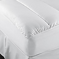 Image Of Theic 500 Thread Count Cotton Mattress Pad In White
