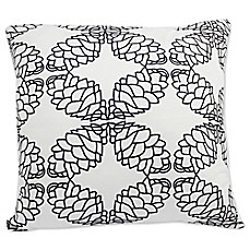 image of Ami McKay PURE Collection Twiggy Pinecone Square Toss Pillow