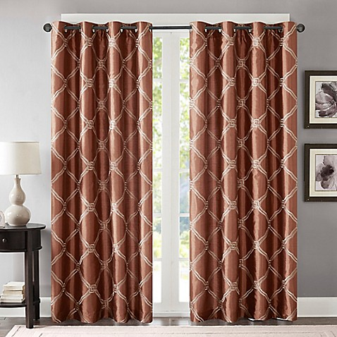 Bombay 174 Teramo Grommet Window Curtain Panel Bed Bath