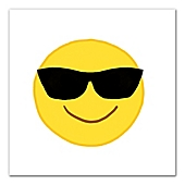 Emoji Wall Art cool emoji canvas wall art - bed bath & beyond