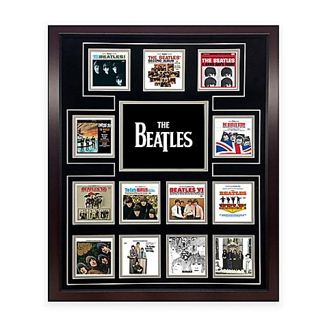 The Beatles US Album Discography Collage Canvas Wall Art - Bed Bath ...