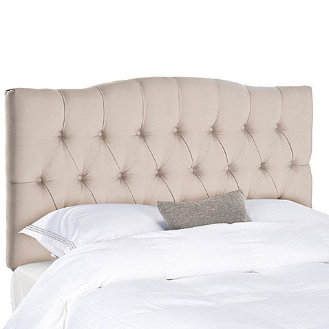 Safavieh Axel Tufted Queen Headboard Bed Bath Amp Beyond