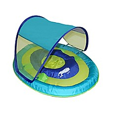 image of SwimWays Sun Shade Spring Float in Whale
