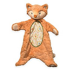 image of Fox Sshlumpie Blanket Plush in Ivory/Orange