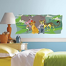 image of The Lion Guard and Friends Peel and Stick Giant Wall Decal
