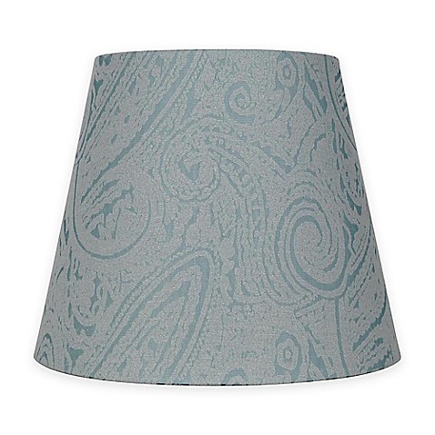 buy patterned hardback fabric small lamp shade in teal. Black Bedroom Furniture Sets. Home Design Ideas