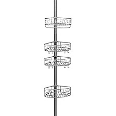 image of interdesign twigz tension shower caddy