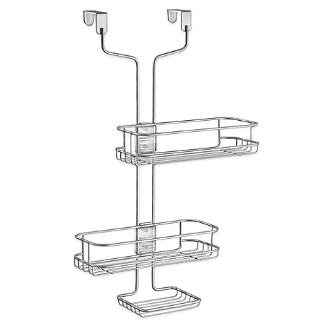 interdesign 174 linea adjustable over the door shower caddy