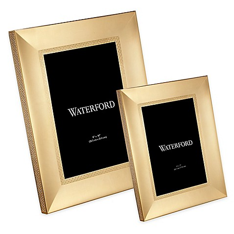 Waterford 174 Lismore Diamond Frame In Gold Bed Bath Amp Beyond