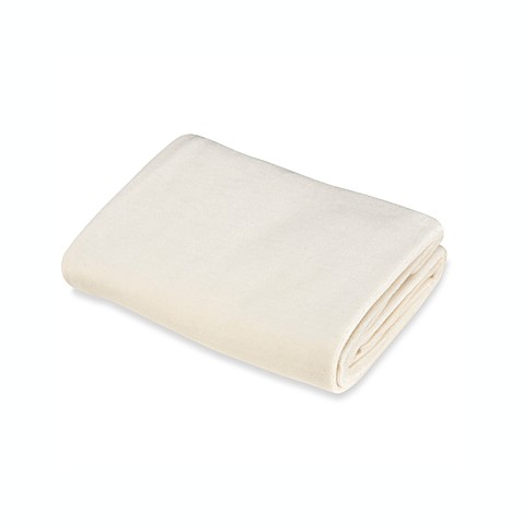 TL Care® Velour Fitted Contoured Changing Pad Cover made with Organic Cotton in Natural