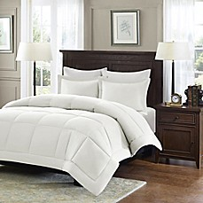 image of Madison Park Microcell Down Alternative Comforter Set