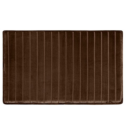 Buy Microdry 174 Ultimate Luxury Softlux 17 Inch X 24 Inch Memory Foam Bath Mat In Chocolate From
