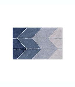 Tapete para baño Wamsutta® Collective Ombre Chevron en azul