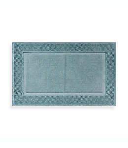 Tapete para baño Wamsutta® de algodón hilado en anillo, 50.8 x 83.82 cm en azul mar