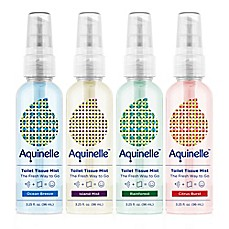 image of Aquinelle™ Toilet Tissue Mist 4-Scent Travel Pack