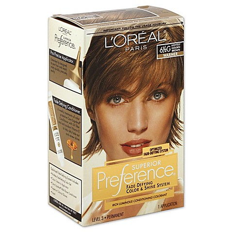 l oréal superior preference fade defying color and shine in 61 2g lightest golden brown